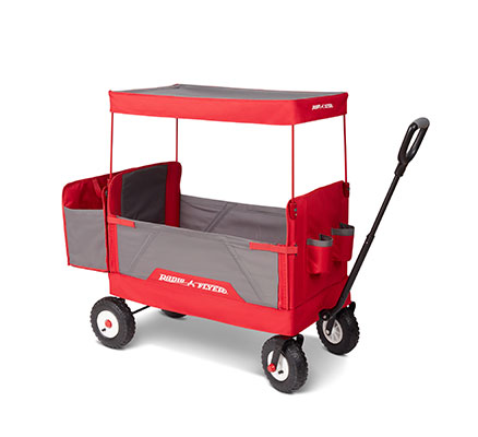 Model 3927 3-In-1 All Terrain Wagon With Canopy