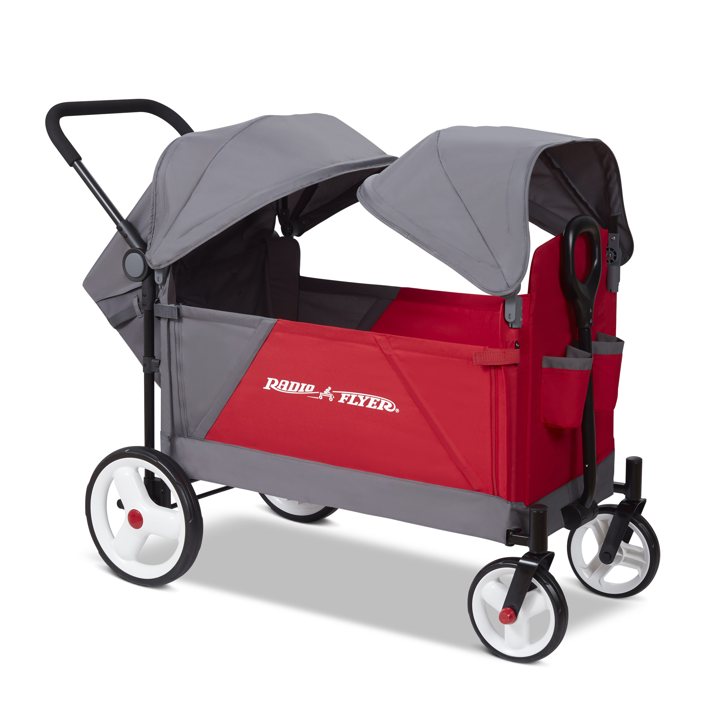 Model 3972 Discovery® Stroller Wagon With Canopies