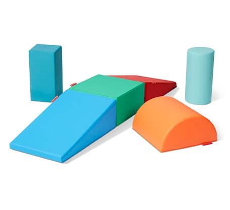 Model 722 Tumble Town Foam Blocks - Rainbow