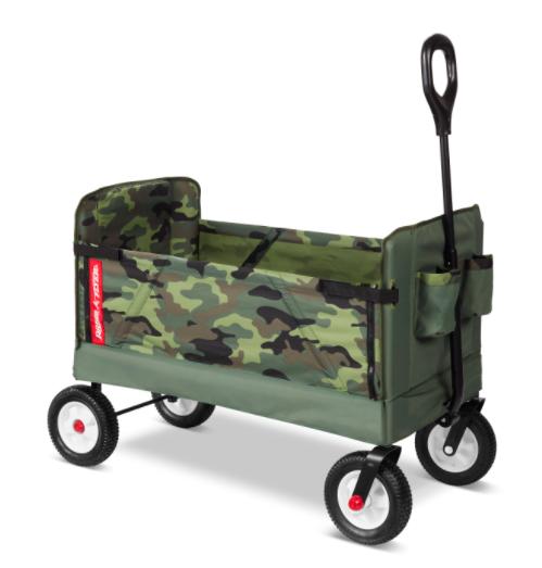 Model 3975 3-In-1 Off-Road EZ Fold Camo Wagon