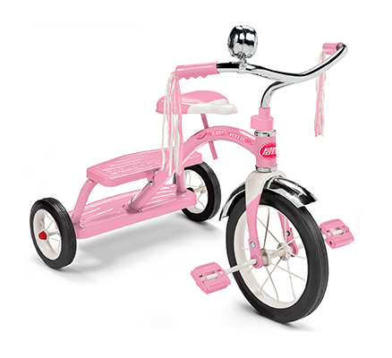 Model 33P Classic Pink Dual Deck Tricycle™ Parts