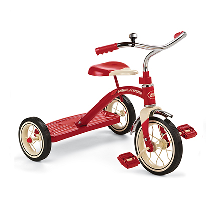 Model 34B Classic Red Tricycle Parts
