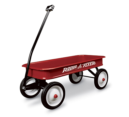 Model 18 Classic Red Wagon Parts