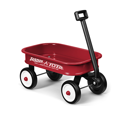 Model W5-100 Little Red Toy Wagon