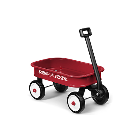 Model W5 Little Red Toy Wagon Parts