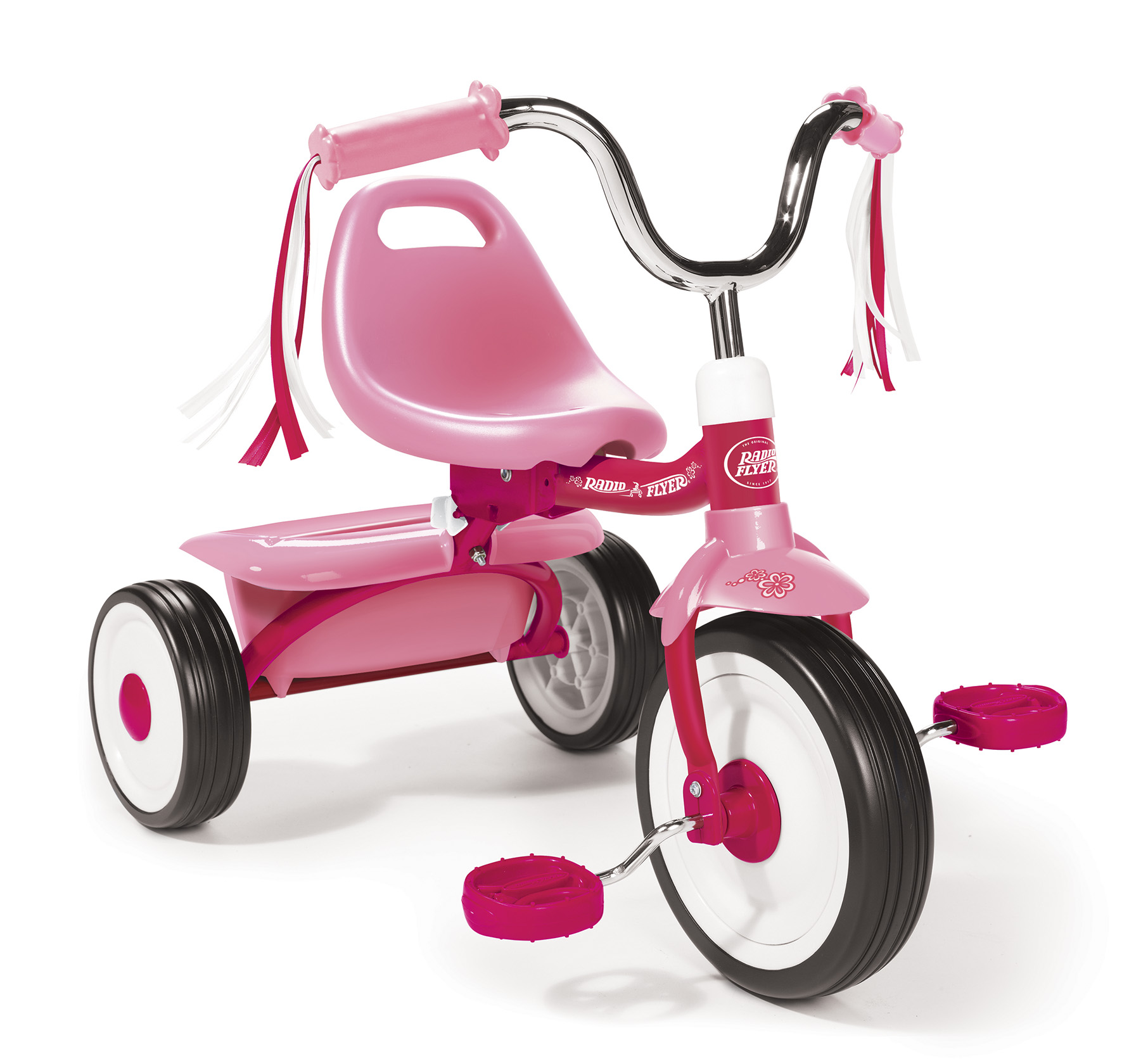 Model 411P Ready to Ride Folding Trike - Pink