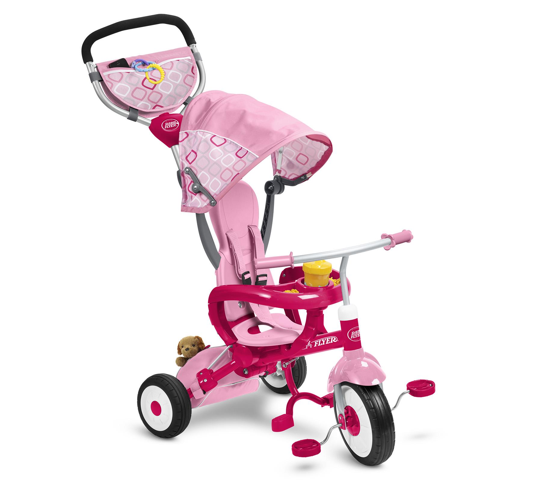 EZ Fold Stroll 'N Trike™-Pink Parts