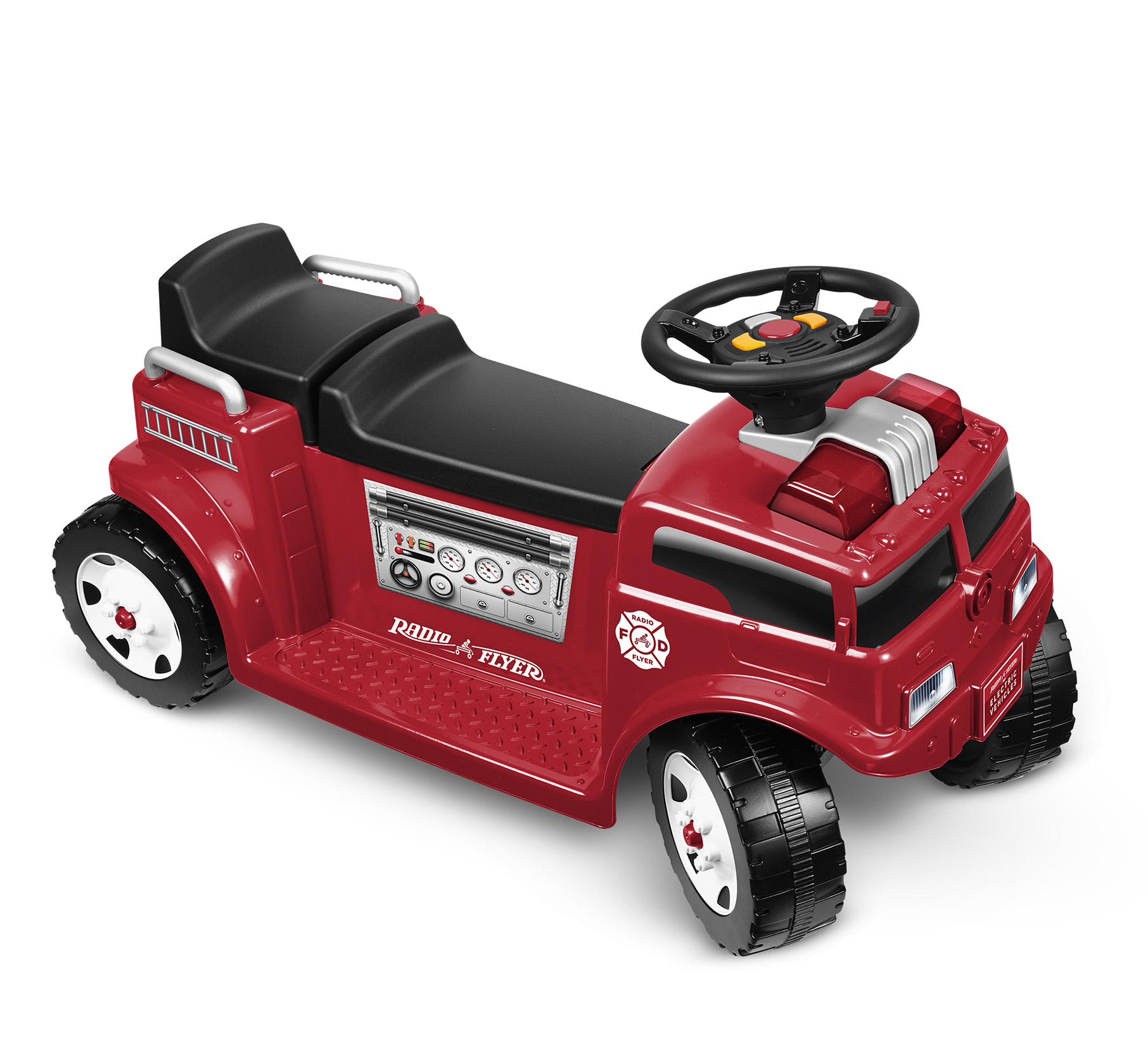 6V Battery Powered Fire Truck Parts