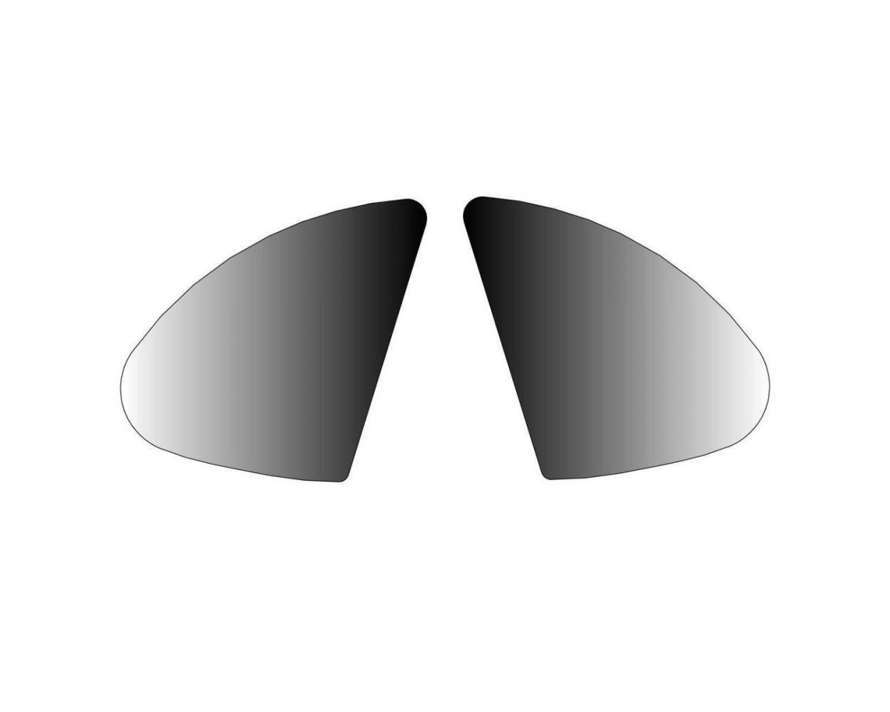 SIDE MIRROR STICKERS- KIT- 603